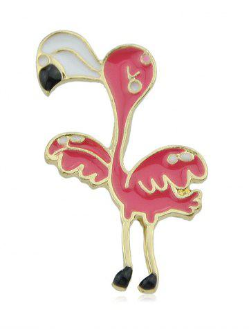 Cute Flamingo Brooch