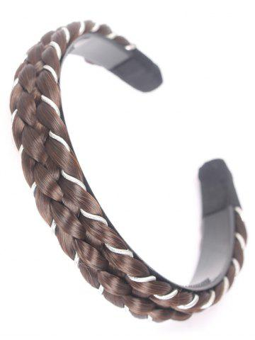 Online Synthetic Fiber Braid Decoration Hair Band