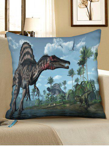 Cheap 3D Forest Dinosaur Print Decorative Sofa Pillowcase