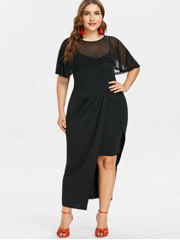 Plus Size Dressy Maxi Dresses Party Long Sleeve And Lace Cheap