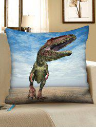 3D Walking Dinosaur Print Sofa Pillowcase -
