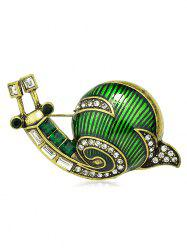 Broche Escargot Design en Alliage -