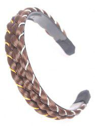 Synthetic Wig Braid Hair Band -