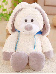 Hoodie Rabbit Shaped Plush Toy -