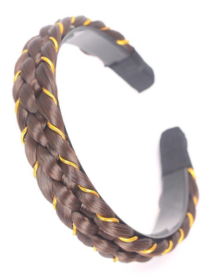 Discount Synthetic Fiber Braid Decoration Hair Band