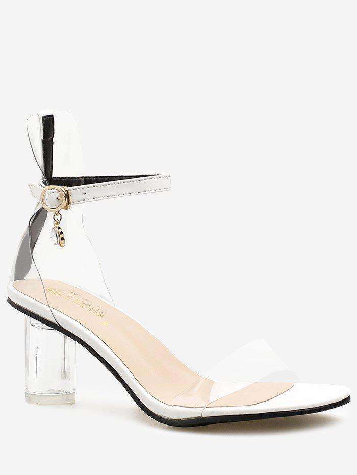 Shop Lucid Strap Stiletto Heel Pumps