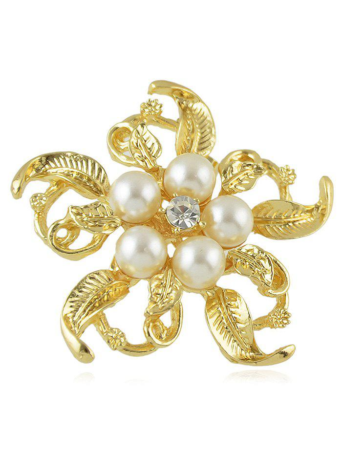 Best Floral Brooch With Rhinestone