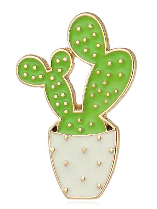 Shops Potted Plant Enamel Brooch