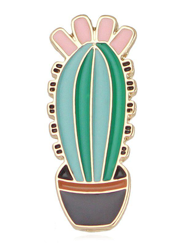 Discount Potted Plant Enamel Brooch