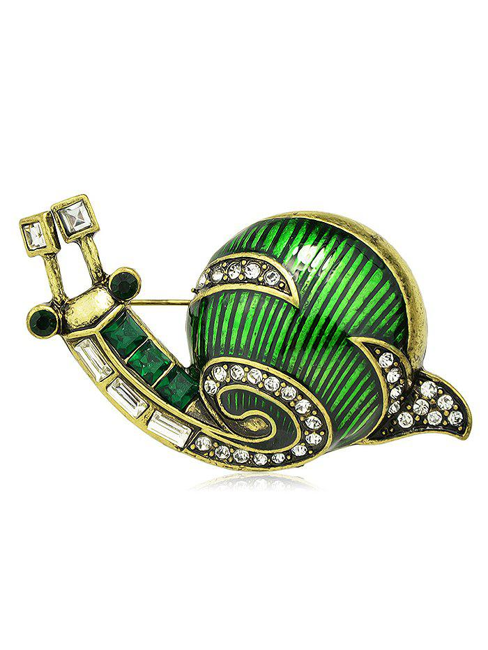 Broche Escargot Design en Alliage