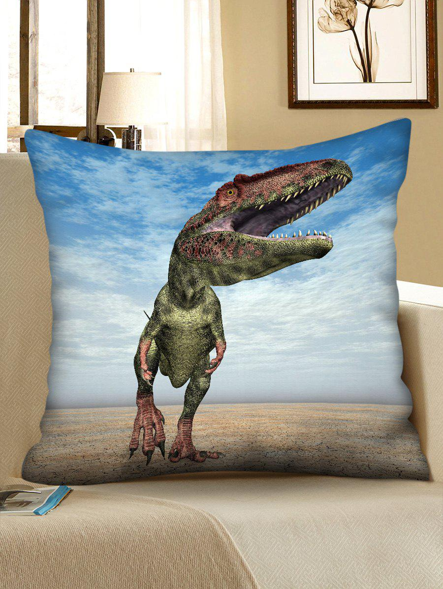 Online 3D Walking Dinosaur Print Sofa Pillowcase