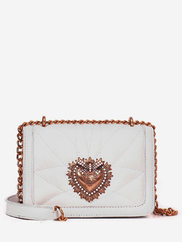 Shops Daily Shopping Leisure Metallic Flap Chain Bag