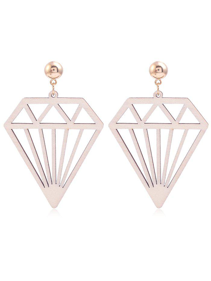 Outfits Hollow Out Diamonds Shaped Dangle Earrings
