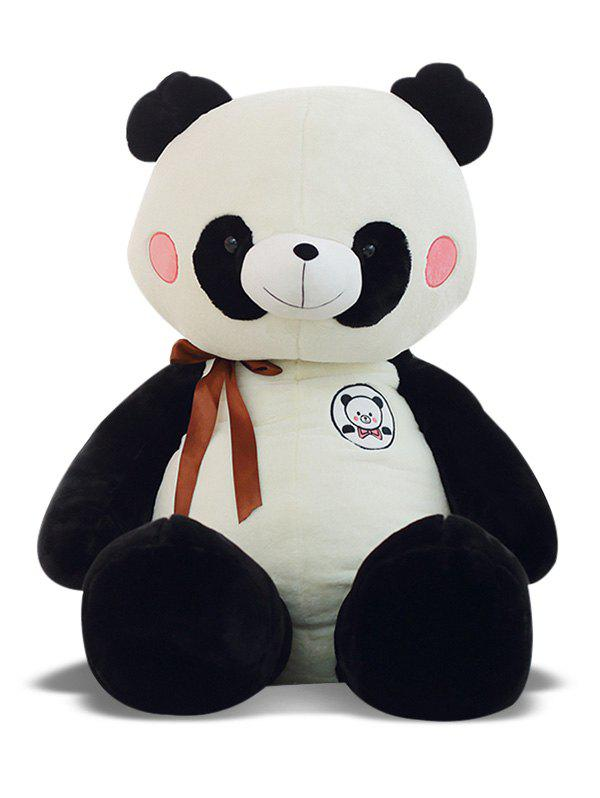 Fashion Panda Bowknot Plush Toy