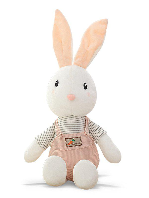 Chic Striped Rabbit Shaped Plush Toy