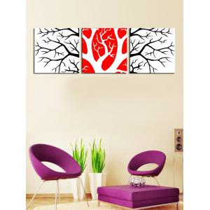 Wall Art Branches Pattern Canvas Paintings -