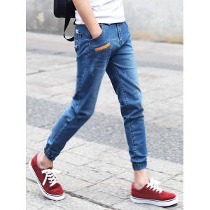 Torned Stretchy Ankle Nine Minutes of Pants -