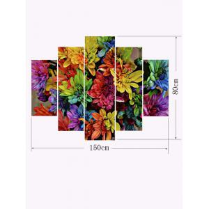Floral Print Unframed Canvas Paintings -