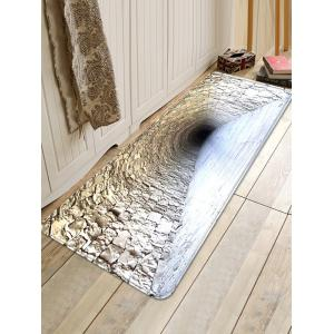 Brick Cave Pattern Water Absorption Area Rug -