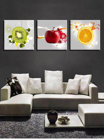 Buy Fruit Print Unframed Canvas Wall Art