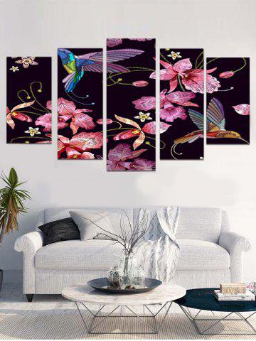 Store Easy Flower Print Unframed Canvas Paintings