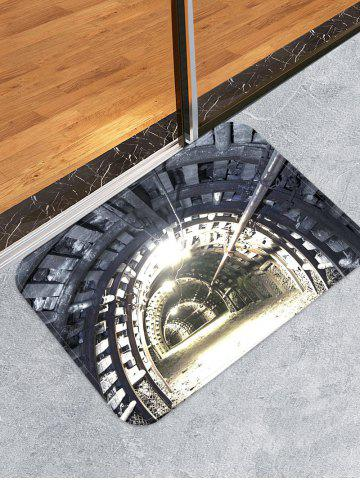Affordable Mine Tunnel Print Skidproof Area Mat