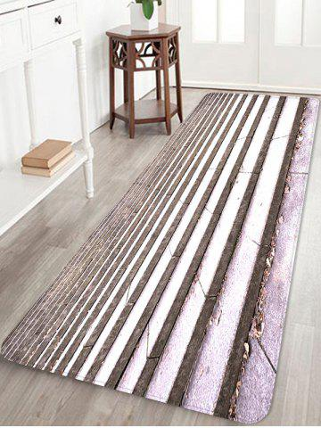 Fancy Step Printed Skidproof Area Mat