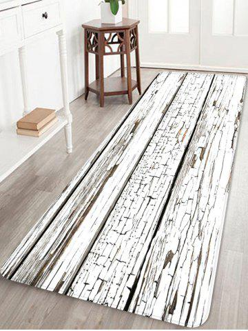 Best Peeling Wood Floor Print Water Absorption Area Rug