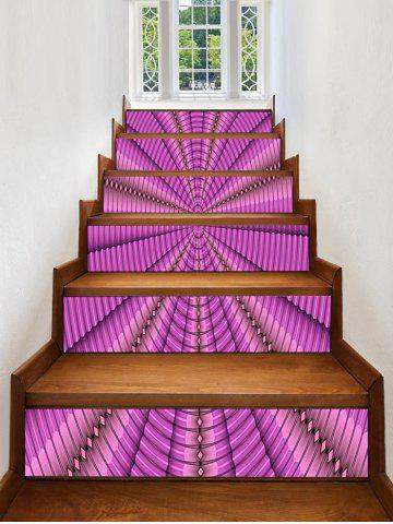 Online Abstract Spiral Pattern PVC Stair Stickers