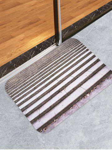 Trendy Step Printed Skidproof Area Mat