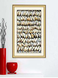 Removable 3D Rock Stone Printed Print Wall Sticker -