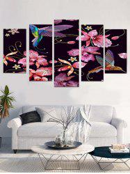 Easy Flower Print Unframed Canvas Paintings -