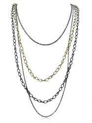Simple Multi Strand Necklace -