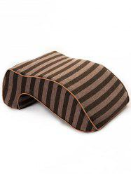 Striped Print Memory Foam Show Rebound Nap Pillow -