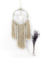 Handmade Pentagram Macrame Wall Hanging Decoration -