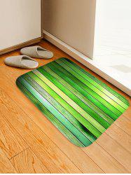 Wood Floor Pattern Water Absorption Area Rug -