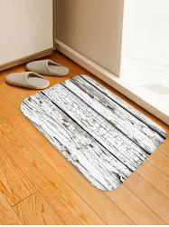 Peeling Wood Floor Print Water Absorption Area Rug -