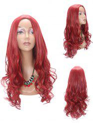 Long Middle Part Wavy Party Synthetic Wig -