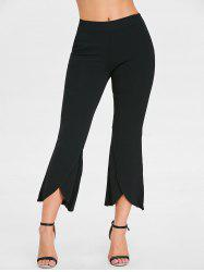 High Waisted Ninth Bell Bottom Pants -