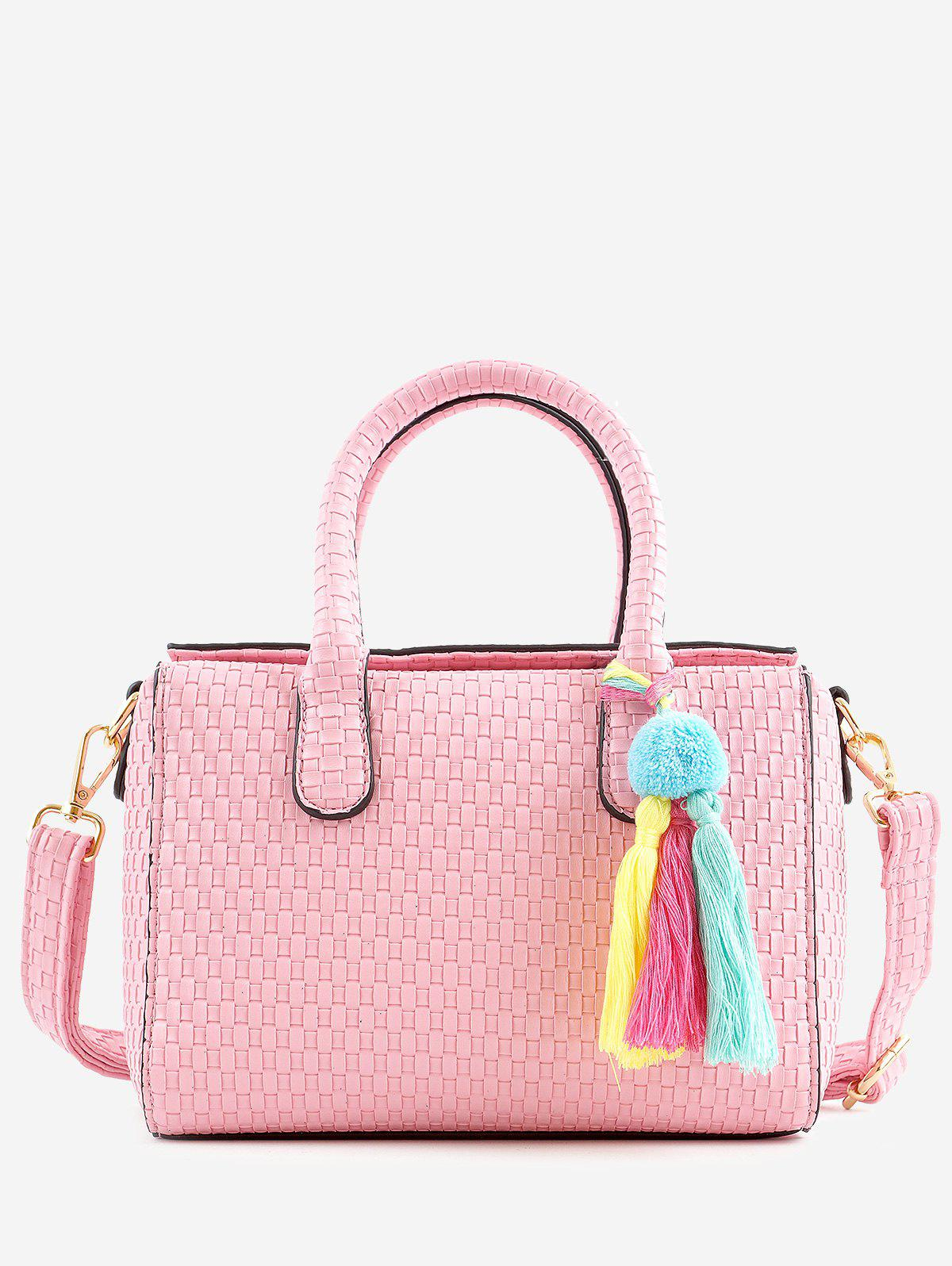 Hot Minimalist Leisure Vacation Tassels Braid Handbag