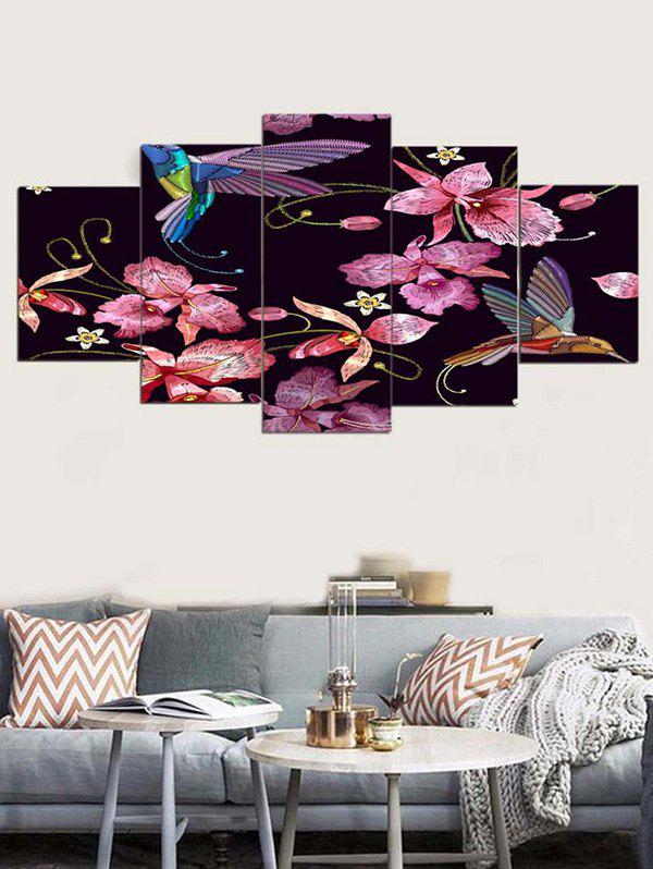 Sale Easy Flower Print Unframed Canvas Paintings