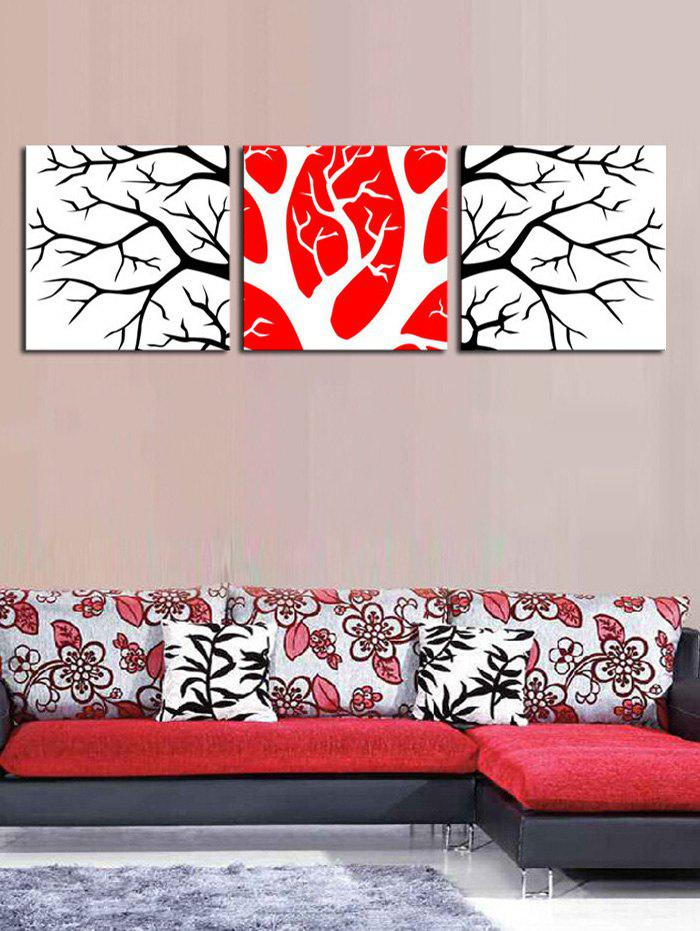 Fashion Wall Art Branches Pattern Canvas Paintings