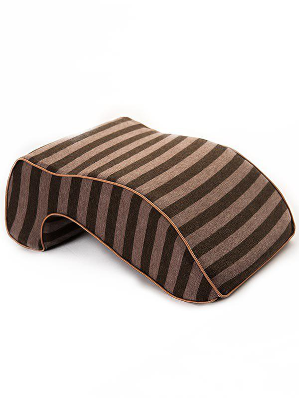 Shop Striped Print Memory Foam Show Rebound Nap Pillow