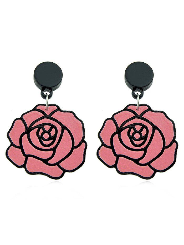 New Flower Design Dangle Earrings