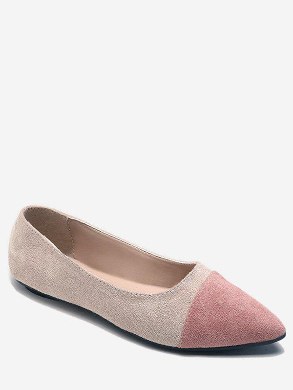 Store Flat Heel Pointed Toe Slip On Pumps