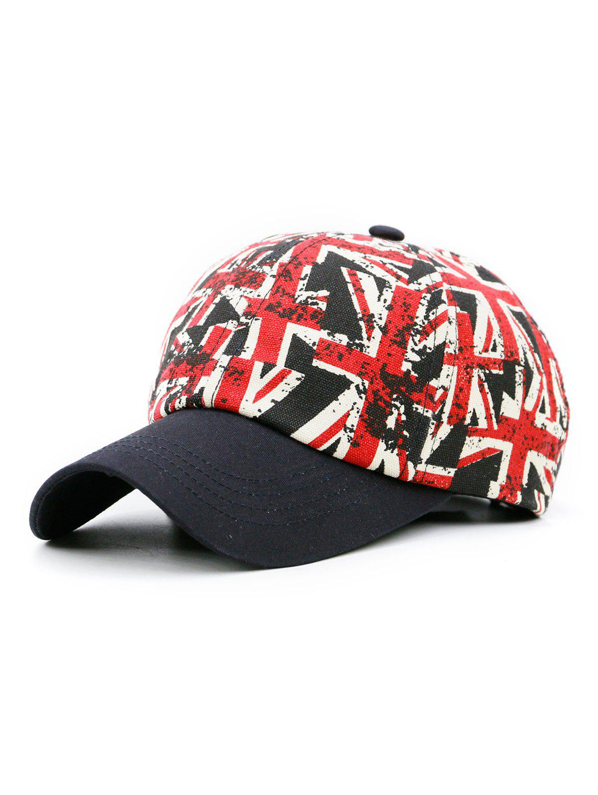 Шаблон Jack Flag Pattern Adjustable Snapback Hat