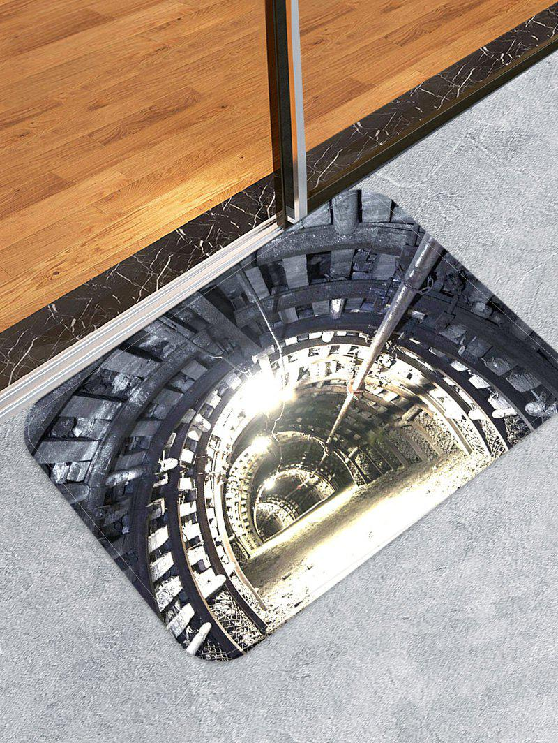Sale Mine Tunnel Print Skidproof Area Mat
