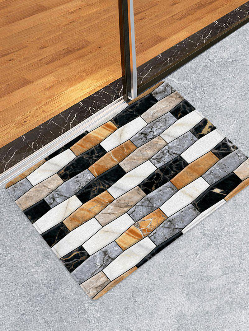 Sale Marble Print Skidproof Area Mat