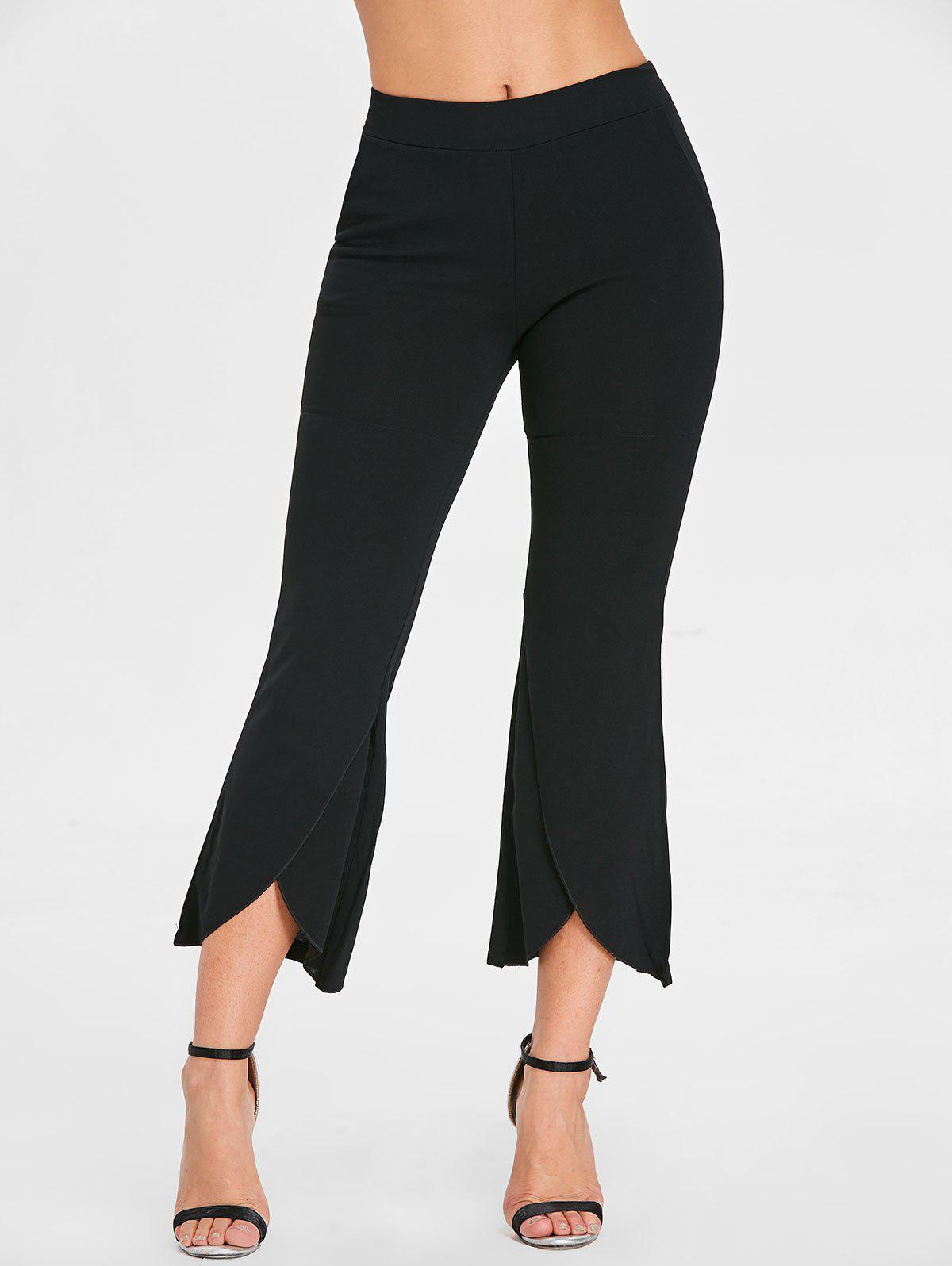 Latest High Waisted Ninth Bell Bottom Pants