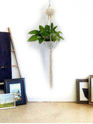 Macrame Plant Hanger Pot Holder Rope Braided Craft -
